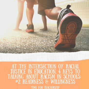 4 Keys for Racial Justice Discourse in Schools: # 2 Readiness & Willingness. Part 2 in a 4-part antiracism series from Dr. Cherie Bridges Patrick's work on building capacity for generative racial dialogue in schools. Check out the Time for Teachership blog post. For more ideas on how to work for educational equity, sign up for weekly emails at bit.ly/lindsayletter #growthmindset #antiracism