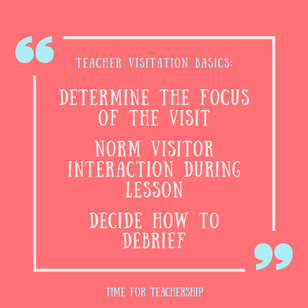 How to Set Up Peer Visitations. Personalized PD teachers can start on their own. Build teacher efficacy. Get inspired. Experience professional growth. Scroll all the way down to get my free starter kit! Check out the blog post by Lindsay Lyons for Time for Teachership. For more tips and #teacherfreebies, sign up for weekly emails at bit.ly/lindsayletter   #teachinginspiration #growthmindset