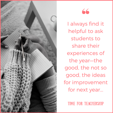 Listen to Student Reflections on the Year. What should we ask students to provide feedback on? How might we ask them to share their reflections? Check out the blog post by Lindsay Lyons for Time for Teachership & get one of my #teacherfreebies For more tips on instructional strategies, sign up for weekly emails at bit.ly/lindsayletter #growthmindset