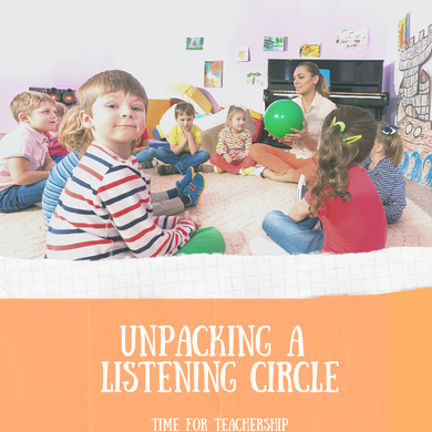 Unpacking a Listening Circle. I share a Morningside Center circle lesson on the killing of George Floyd and considerations for facilitating circles on racism and police brutality. Check out the blog post by Lindsay Lyons for Time for Teachership & get one of my #teacherfreebies For more tips on educational equity, sign up for weekly emails at bit.ly/lindsayletter #growthmindset